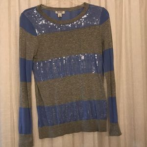 Blue and Gray Sweater!